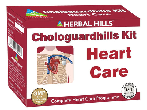 Heart Care - Herbal Hills Chologuardhills Kit