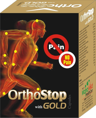 Joint Care - Orthostop Gold  - Joint Pain, Arthritis And Muscle Pain Capsules