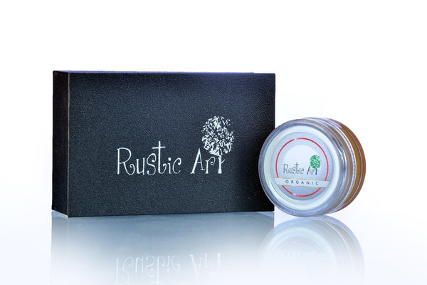 Lip Cream - Rustic Art Organic  Orange Lip Moisturiser 8gm