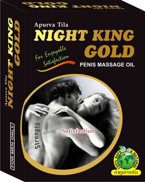 Men's Health - Night King Gold - Sexual Strength, Stamina, Erectile Dysfunction, Premature Ejaculation Oil