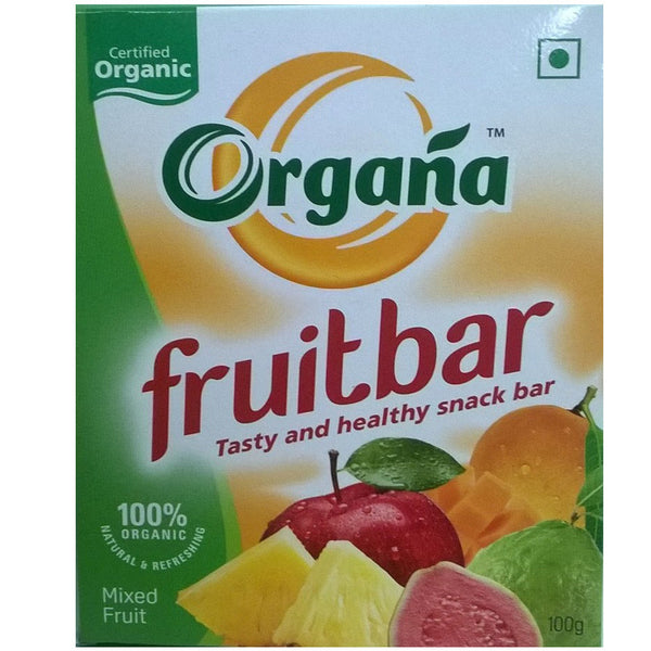 Organa Mixed Fruit Bar (Pack of 2)