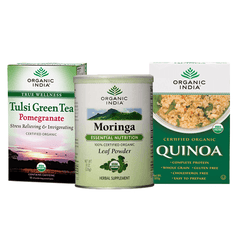 Nutritional - Organic India Supper Pack - Set Of 3