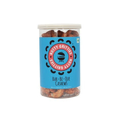 Nuts And Dry Fruits - Nutty Gritties Barbeque Cashews 180gm