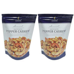 Nuts And Dry Fruits - Rostaa Black Pepper Cashew (Pack Of 2)