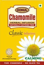 Organic Tea - Gokul International Chamomile Tea 20 Tea Bags