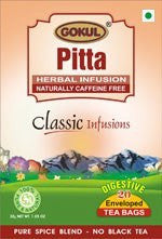 Organic Tea - Gokul International Pitta Tea 20 Tea Bags
