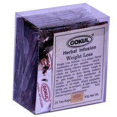 Organic Tea - Gokul International Weight Loss Tea 25 Tea Bags