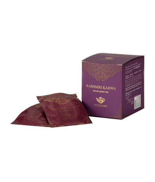 Organic Tea - Goodwyn Tea Kashmiri Kahwa 20 Tea Bags