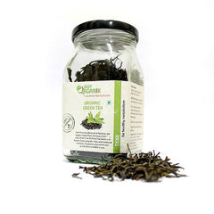 Organic Tea - Just Organik Organic Green Tea 50gm