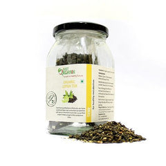 Organic Tea - Just Organik Organic Lemon Green Tea Loose 40gm