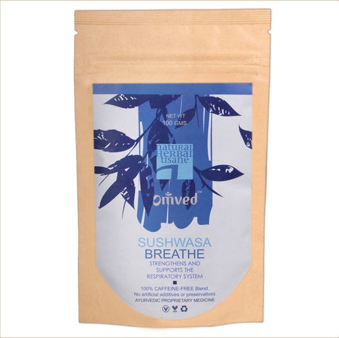 Organic Tea - Omved Sushwasa Breathe Tisane 100gm