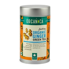 Organic Tea - Organica Organic Ginger Green Tea 100gm