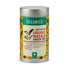 Organic Tea - Organica Organic Masala Green Tea 100gm