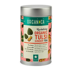 Organic Tea - Organica Organic Tulsi Ginger Tea 75gm