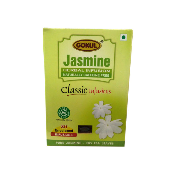 Gokul International Jasmine Tea 20 Tea Bags