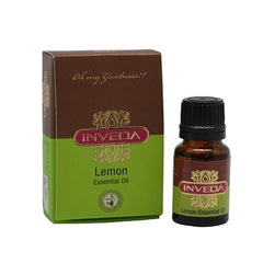 Pure Essential Oil - Inveda Lemon Essential Oil 10ml