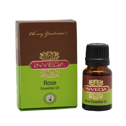 Pure Essential Oil - Inveda Rose Essential Oil 10ml