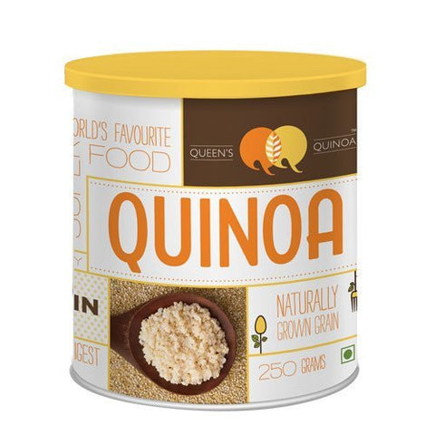 Quinoa - Queen's Quinoa  - Quinoa Grain - Naturally Grown 250gm