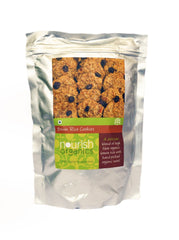 Ready To Eat - Nourish Organics Brown Rice Cookies 150gm