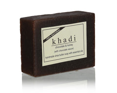 Soaps - Khadi Natural Chocolate Honey With Chocolate Sauce Soap 100gm