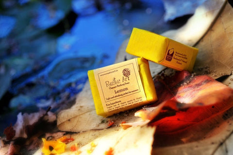 Soaps - Rustic Art Organic Lemon Soap 100gm