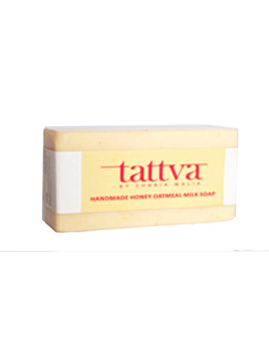 Soaps - Tattva By Shabia Walia Honey Oatmeal Milk Soap 100gm