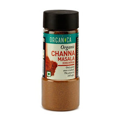 Spices And Condiments - Organica Organic Channa Masala 75gm (Pack Of 2)