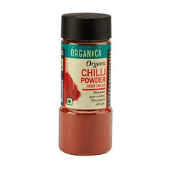 Spices And Condiments - Organica Organic Chilli Powder 75gm (Pack Of 2)