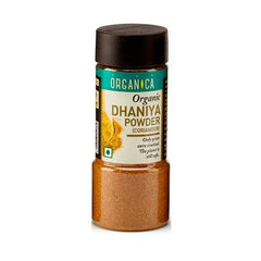 Spices And Condiments - Organica Organic Dhaniya Powder 75gm (Pack Of 2)