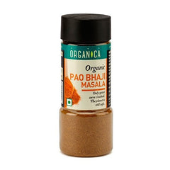 Spices And Condiments - Organica Organic Pao Baji Masala 75gm (Pack Of 2)