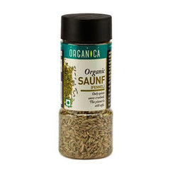 Spices And Condiments - Organica Organic Saunf 75gm (Pack Of 2)