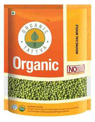 Organic Tattva Organic Dal - Moong Sabut (whole) 500gm