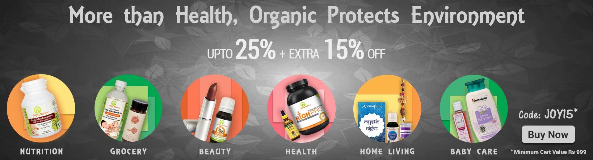 Buy Organic & Natural Products Online