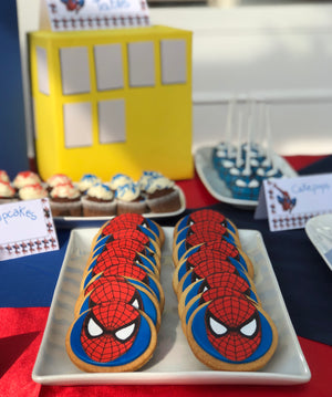 Biscotti Spiderman € 3,5 cad