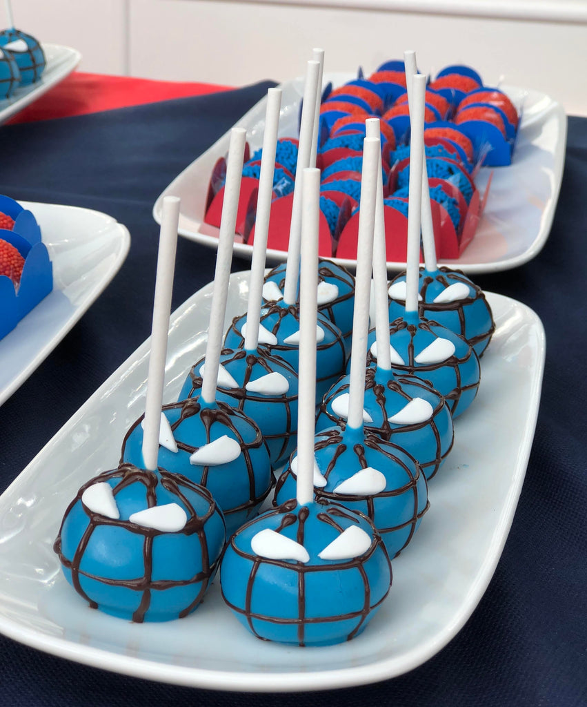 Cakepops spiderman € 2,5 cad