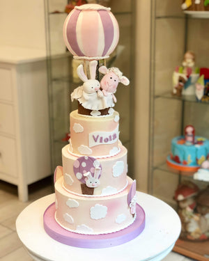Air balloon cake