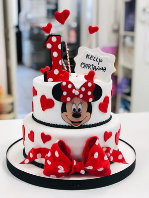 Minnie Mouse Redbow