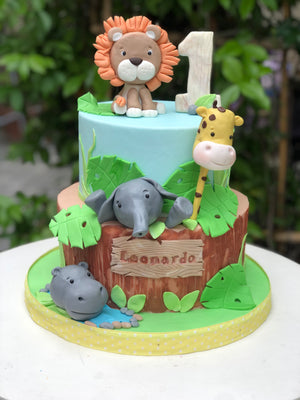 Little lion cake
