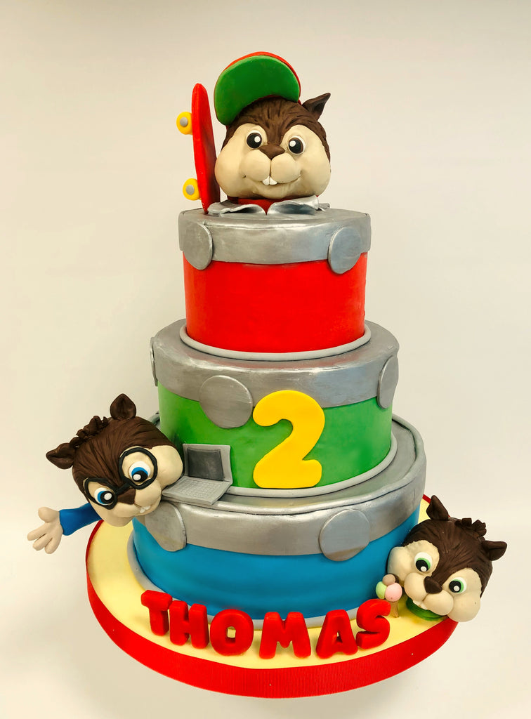 Torta Chipmunks