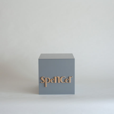 Light Grey Personalised Gift Box