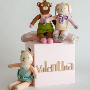 Pale Pink Toy Box