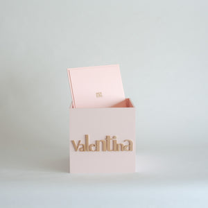 Pale Pink Personalised Gift Box