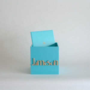Teal Personalised Gift Box