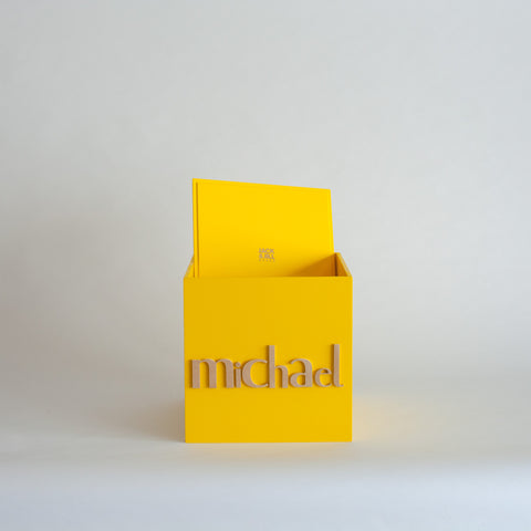 Yellow Personalised Gift Box