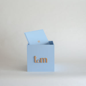 Pale Blue Personalised Gift Box