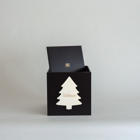 Black Christmas Box