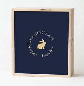 Navy Easter Box