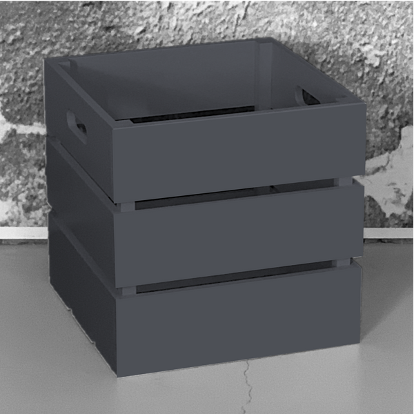 Charcoal Crate Box