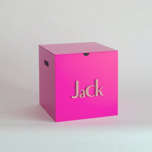 Fuchsia Storage Box