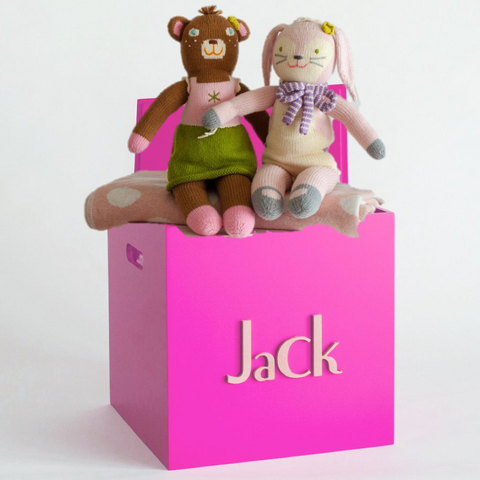 Fuchsia Toy Box